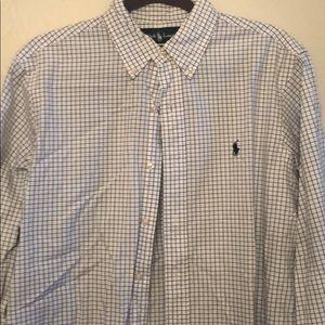 Ralph Lauren Navy Dress Shirt